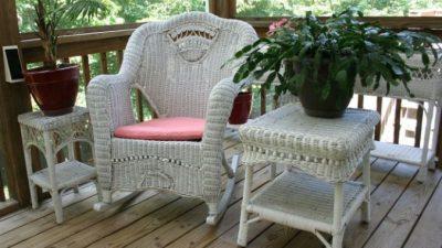 Прочность и надёжность, а также другие преимущества плетёной мебели
