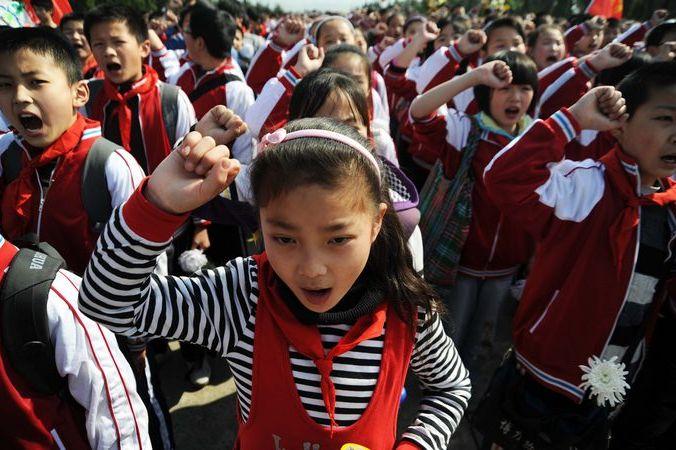 «Юные пионеры Китая». Фото:  VCG/Getty Images | Epoch Times Россия