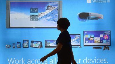 Microsoft разработала китайский вариант версии ОС Windows 10