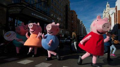 В Китае запретили «Свинку Пеппу» и «Винни Пуха»