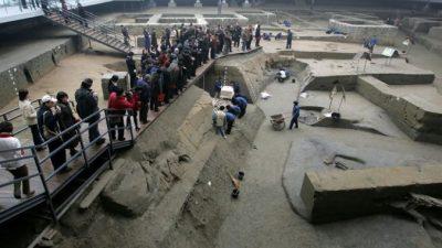 Китайские археологи обнаружили древнее изображение даосского бога