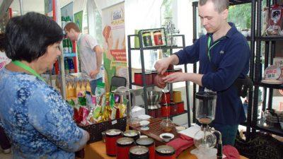 Экологические продукты и напитки на фестивале «Экология мозга»
