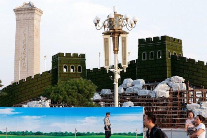 Копия Великой Китайской стены пополнила коллекцию Китая