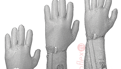 Стальная защита: кольчужные перчатки и фартуки