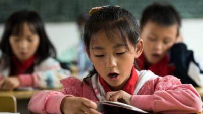 Телеведущий: Китайских детей учат лгать