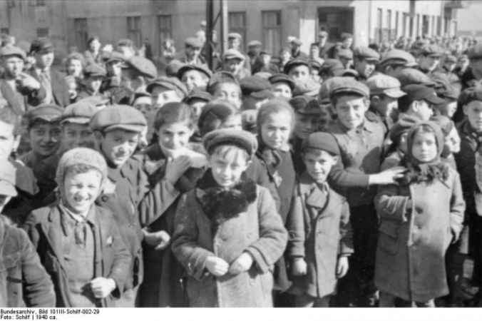 Дети в гетто Лицманштадт. Фото: Bundesarchiv, Bild 101III-Schilf-002-29/Schilf /CC-BY-SA 3.0   Epoch Times Россия
