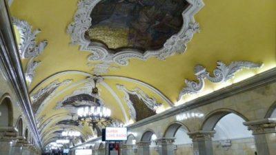 """Московское метро было названо самым """"тоннельным"""" в России"""