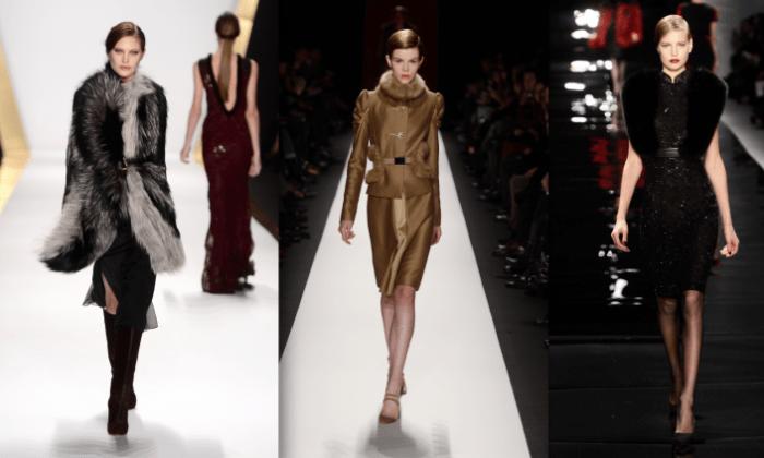 (LR) Дж. Мендель, Каролина Эррера, Рим Акра. (Фрейзер Харрисон / Getty Images для Mercedes-Benz Fashion Week)   Epoch Times Россия