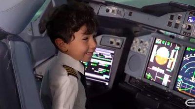 6-летний мальчик посадил Airbus A380. И это просто невероятно!