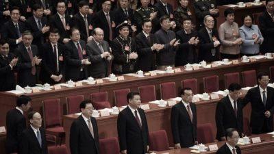 Китайцы высмеивают формализм парламентской сессии