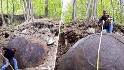 Гигантскую каменную сферу, созданную неизвестной древней цивилизацией, нашли археологи