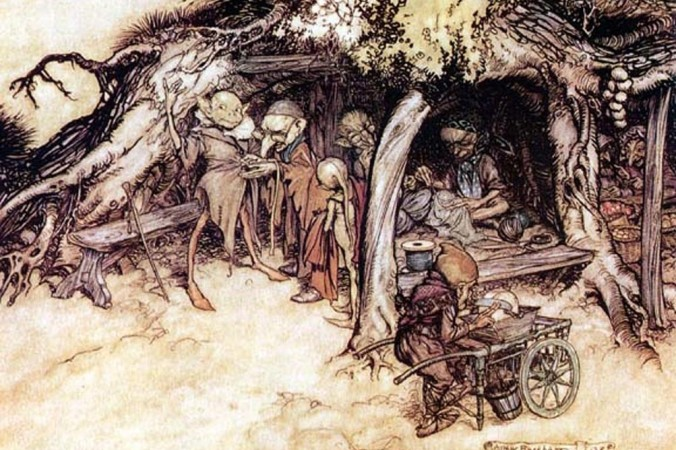 Иллюстрация к пьесе Шекспира «Сон в летнюю ночь» Артура Ракхама. Источник фото: Public Domain | Epoch Times Россия