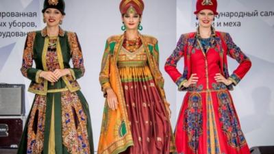 Русские национальные мотивы в современной одежде
