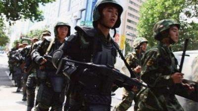 Китайский город Гуанчжоу будут патрулировать 10 тысяч полицейских