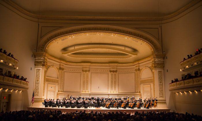 Симфонический оркестр Shen Yun в Карнеги-холле, 11 октября 2014 г. (Dai Bing / Epoch Times) | Epoch Times Россия