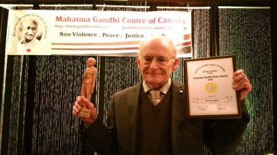 Канадский адвокат-правозащитник Дэвид Мэйтас удостоен премии Махатмы Ганди