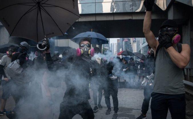 Протесты в Гонконге, 29 сентября 2019 года. Фото: Chris McGrath/Getty Images | Epoch Times Россия