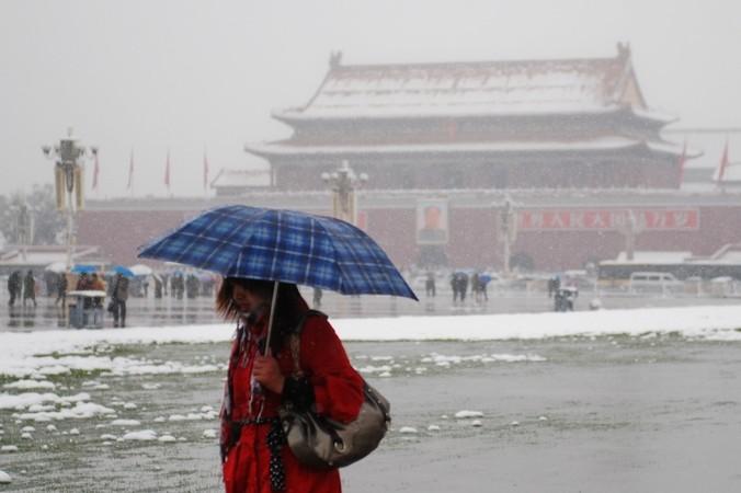 Погода в Китае. Фото: WANG ZHAO/AFP/Getty Images   Epoch Times Россия