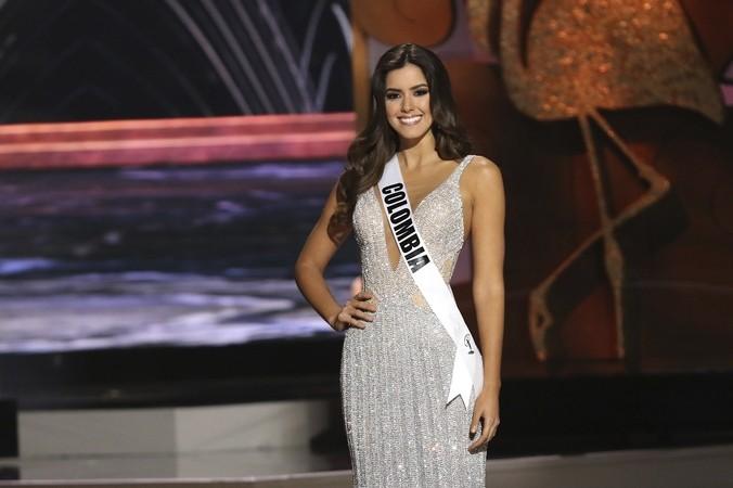 Победительница конкурса «Мисс Вселенная — 2014» колумбийка Паулина Вега, Майами, 25 января, 2015 год. Фото: Alexander Tamargo/Getty Images | Epoch Times Россия