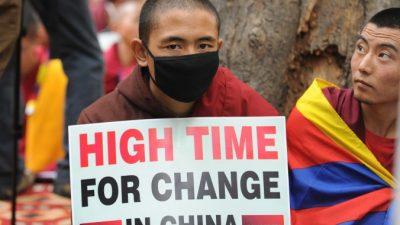 Новая пограничная система усложнит тибетцам побег из Китая