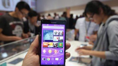 Sony Xperia Z3 шпионит для Китая