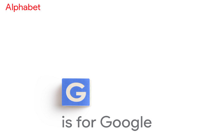 Новый веб-домен Alphabet. Фото: screenshot/abc.xyz | Epoch Times Россия