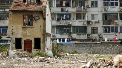 Как «дома-гвозди» препятствуют стремительной урбанизации Китая