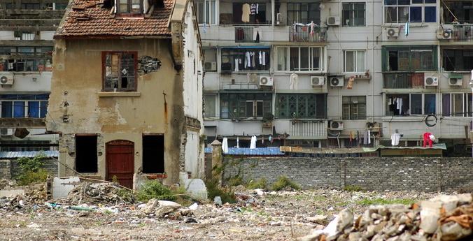 Дом-гвоздь в Китае. Фото: triplefiveandrew/Flickr, CC BY-NC | Epoch Times Россия