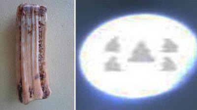 Зуб Будды Шакьямуни содержит вещества неземного происхождения. При их 1000-кратном увеличении проявились образы 5 Будд!