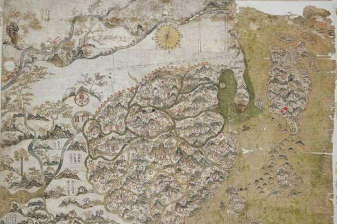 Фрагмент карты Селдена, XVII век. Фото: Public Domain   Epoch Times Россия