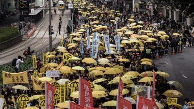 Организаторы марша в Гонконге ожидали больше участников