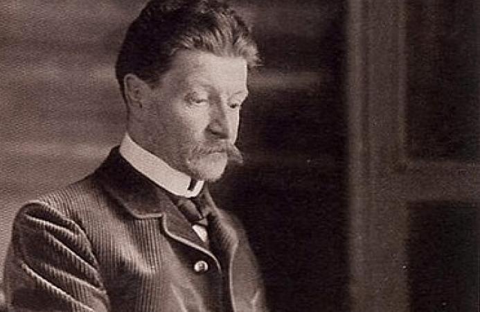 Михаи́л Алекса́ндрович Вру́бель. Фото 1898 года. wikipedia.org/ общественное достояние | Epoch Times Россия
