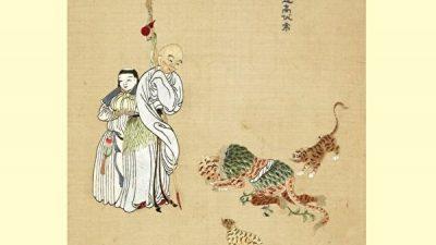 Истории о тиграх, которые слушались буддийских и даосских монахов