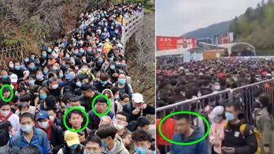 Эпидемия в Китае ещё не закончилась, а тысячи людей уже собрались в одном месте. И не все в масках