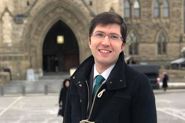 Гарнетт Дженьюс — канадский политик, в 2015 году избран представителем в Палату общин Канады. Фото The Epoch Times | Epoch Times Россия