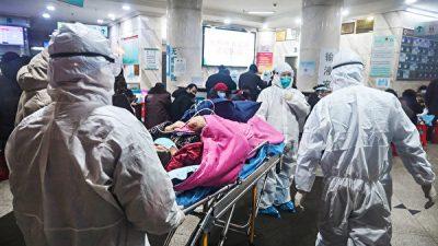 Власти Уханя неожиданно увеличили количество случаев заражения и смерти от эпидемии