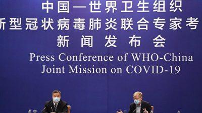Консервативная партия Канады обеспокоена близкими отношениями ВОЗ и КНР