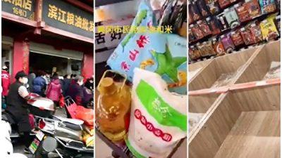 Китайцы опасаются продовольственного кризиса и скупают продукты
