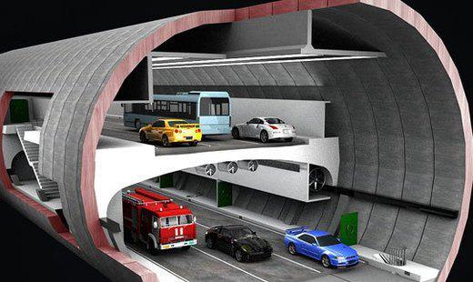 Первый винчестерный тоннель откроется в Москве. Фото: twitter.com/shibaev66/status   Epoch Times Россия