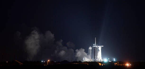 Falcon 9. Фото: Joel Kowsky/NASA via Getty Images | Epoch Times Россия