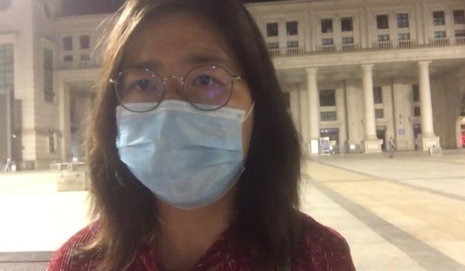 Скриншот 张展/youtube.com  Шанхайский адвокат по правам человека Чжан Чжань отправилась в Ухань, чтобы узнать об эпидемической ситуации и рассказать в соцсетях. Сейчас Чжан Чжань находится в следственном изоляторе в Шанхае.   Epoch Times Россия
