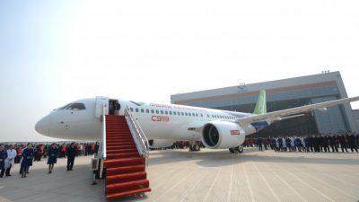 За первым китайским пассажирским самолётом отечественного производства стоят иностранные производители