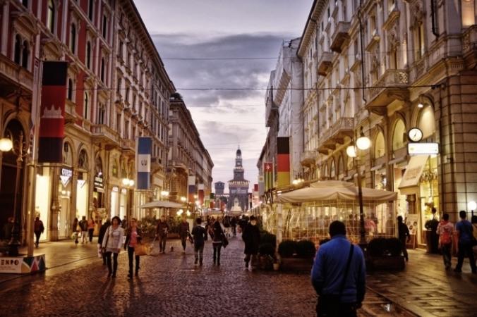 Улица в центре Милана, Италия. IgorSaveliev/pixabay.com/Pixabay License | Epoch Times Россия