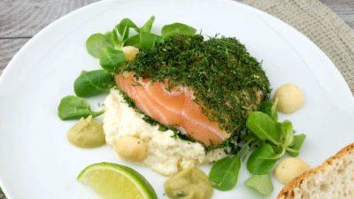 Противовоспалительное рыбно-имбирное блюдо
