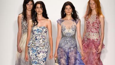Цветочный настрой в весенних коллекциях — 2015