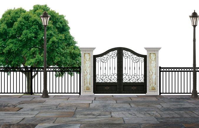 Стоимость кованых ворот