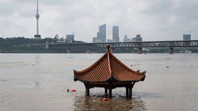 Уровень паводка в провинции Китая достиг рекордного показателя