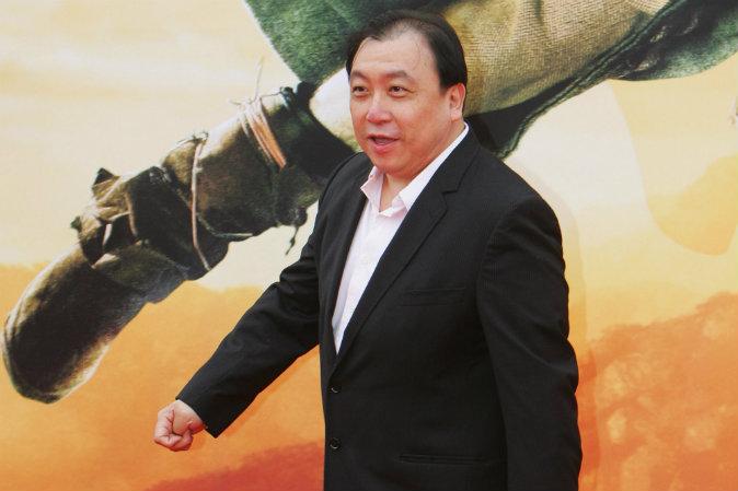 Гонконгский режиссёр Цзин Вон на премьере фильма «Запретное царство» 16 апреля 2008 года в Пекине, Китай. Фото: Feng Li/Getty Images | Epoch Times Россия