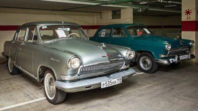 В Москве проходит выставка ретро-автомобилей