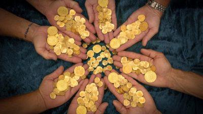 В Дании нашли 2000 золотых спиралей бронзового века